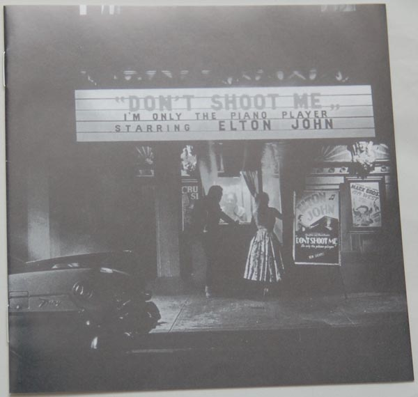 Lyric book, John, Elton - Don't Shoot Me, I'm Only The Piano Player (+4)
