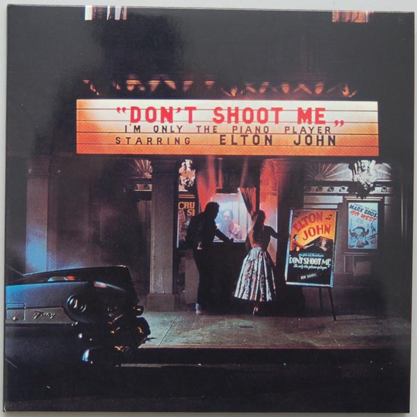 John, Elton - Don't Shoot Me, I'm Only The Piano Player (+4) : Front ...