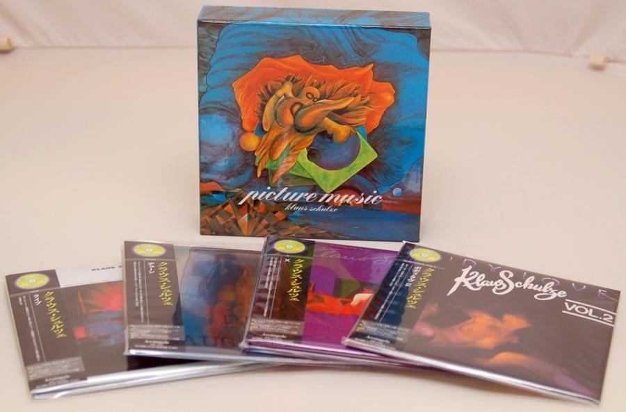 Box contents, Schulze, Klaus - Picture Music Box