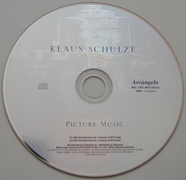 CD, Schulze, Klaus  - Picture Music