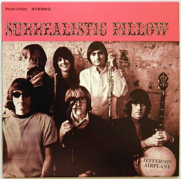 Front cover, Jefferson Airplane - Surrealistic Pillow +6