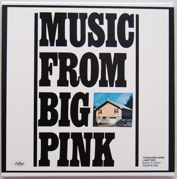 Back cover, Band (The) - Music From Big Pink +9