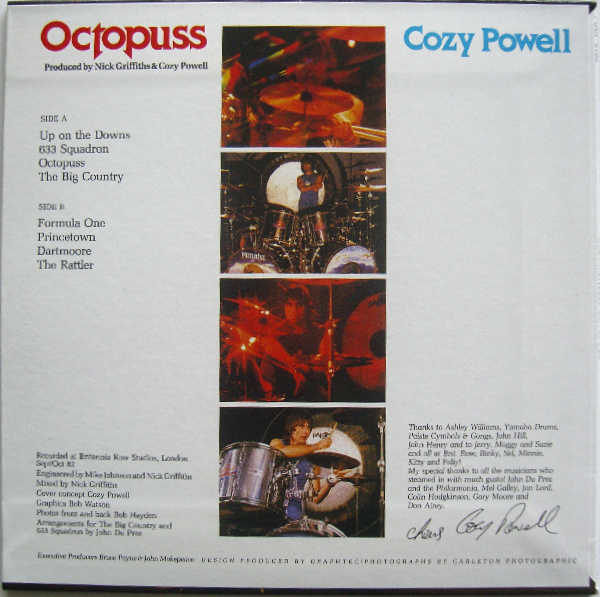Back Cover, Powell, Cozy - Octopuss