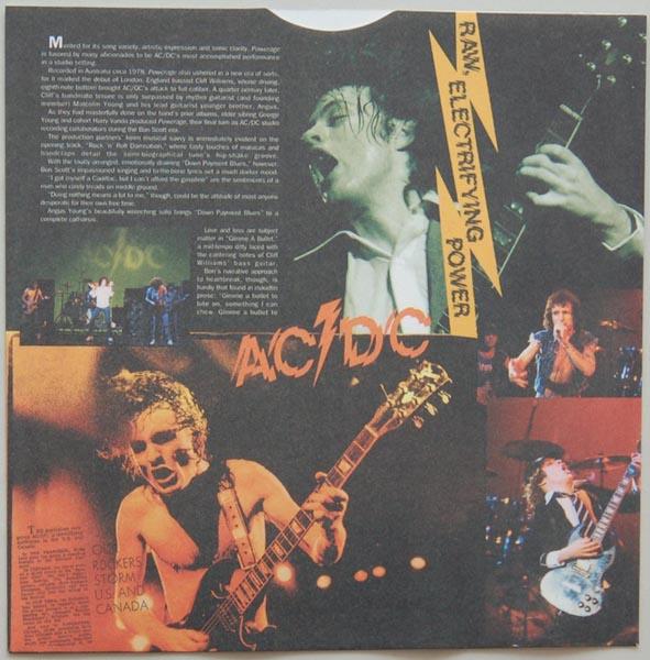 Inner sleeve side A, AC/DC - Powerage