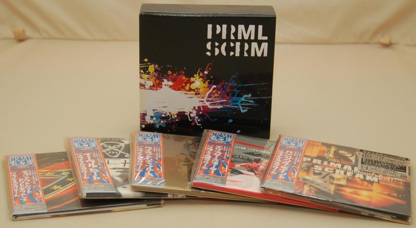 Box content, Primal Scream - Primal Scream Box