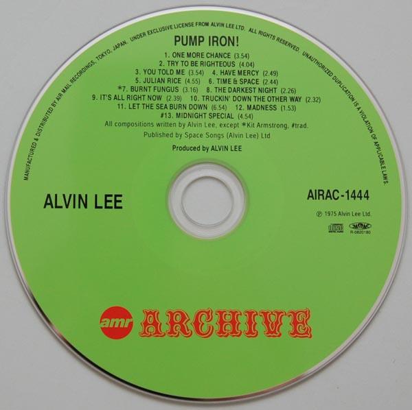 CD, Lee, Alvin - Pump Iron