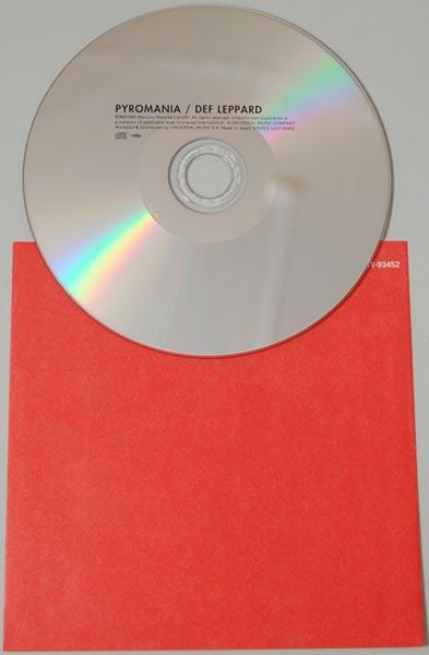 CD, Def Leppard - Pyromania