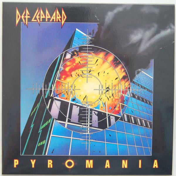Front Cover, Def Leppard - Pyromania