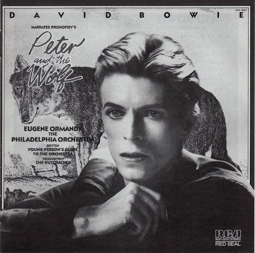 Japanese Booklet, Bowie, David - Peter and the Wolf