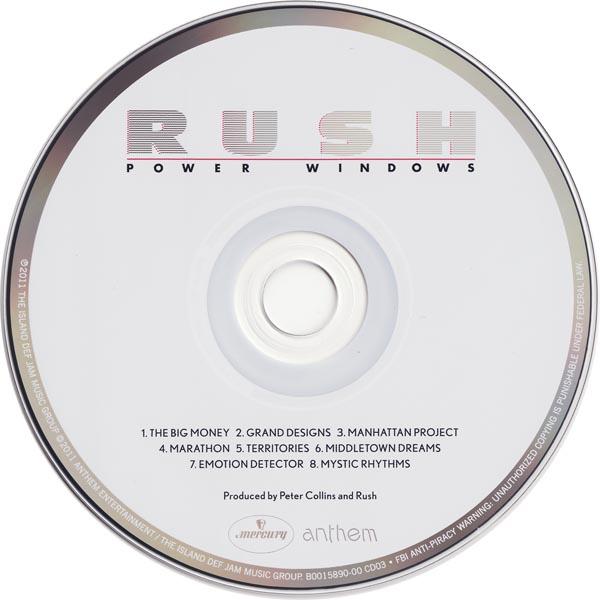 Power Windows CD, Rush - Sector 3