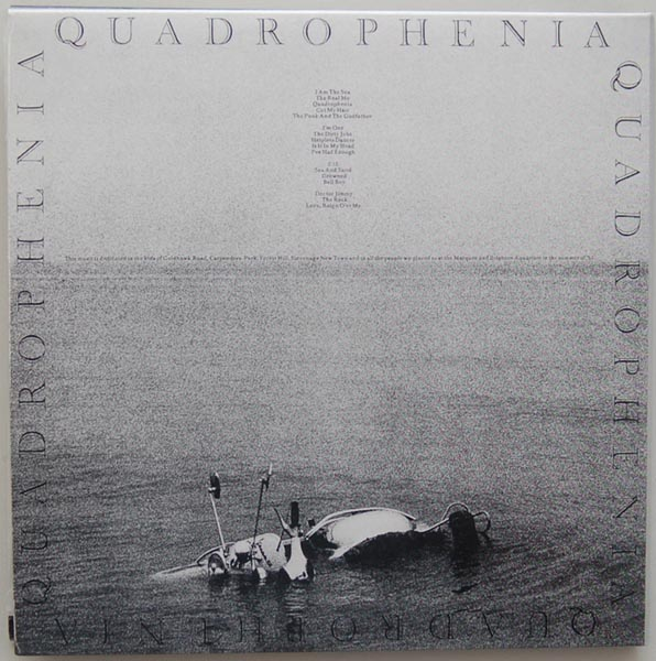Back cover, Who (The) - Quadrophenia