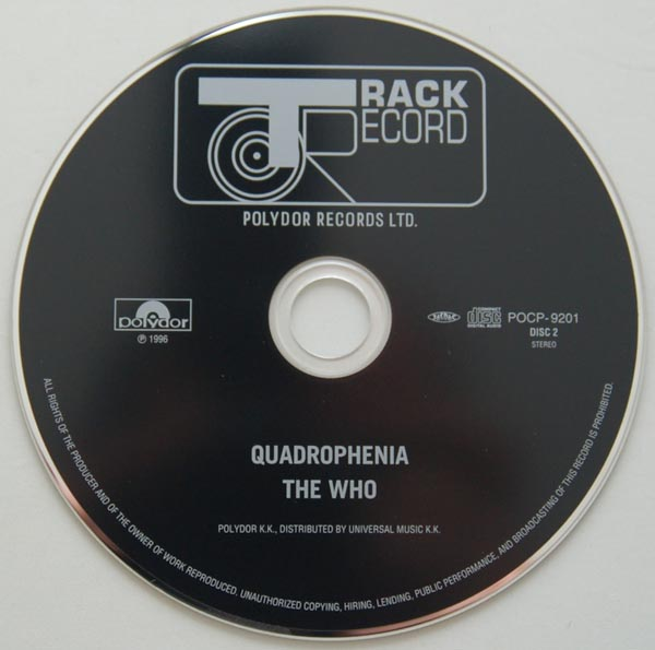 CD, Who (The) - Quadrophenia