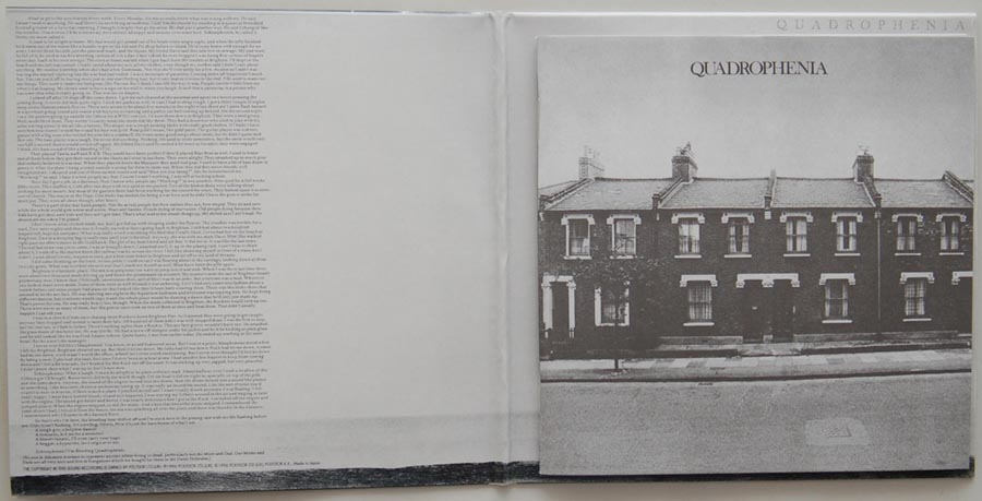 Gatefold open, Who (The) - Quadrophenia