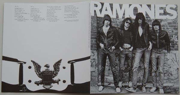 Booklet, Ramones - Ramones + 8