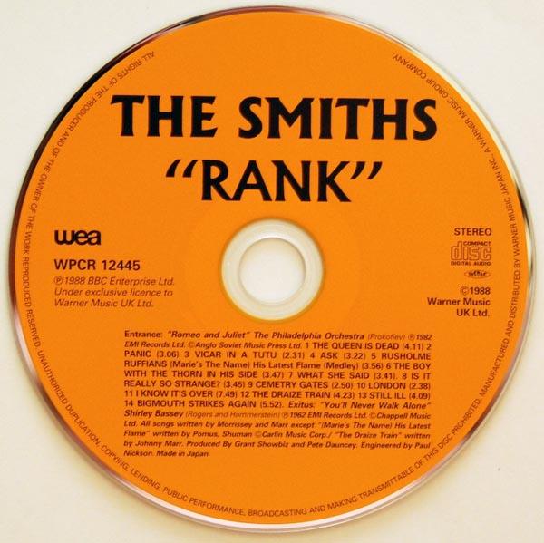 CD, Smiths (The) - Rank