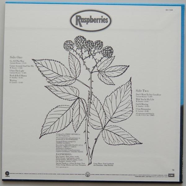 Back cover, Raspberries - Raspberries