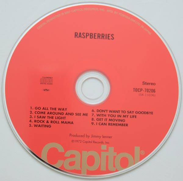 CD, Raspberries - Raspberries