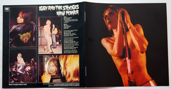 Booklet, Pop, Iggy (and The Stooges) - Raw Power