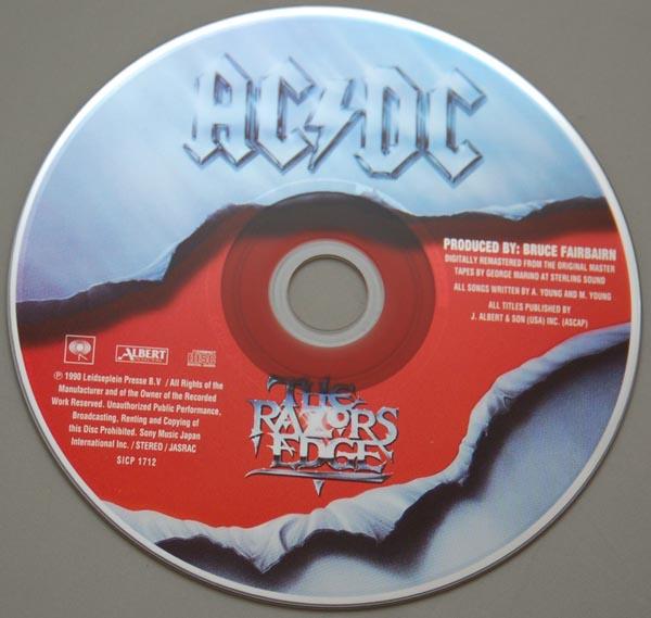 CD, AC/DC - Razors Edge
