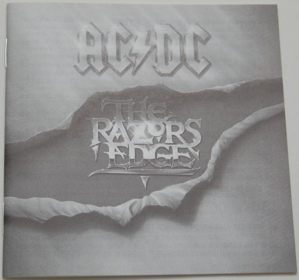 Lyric book, AC/DC - Razors Edge