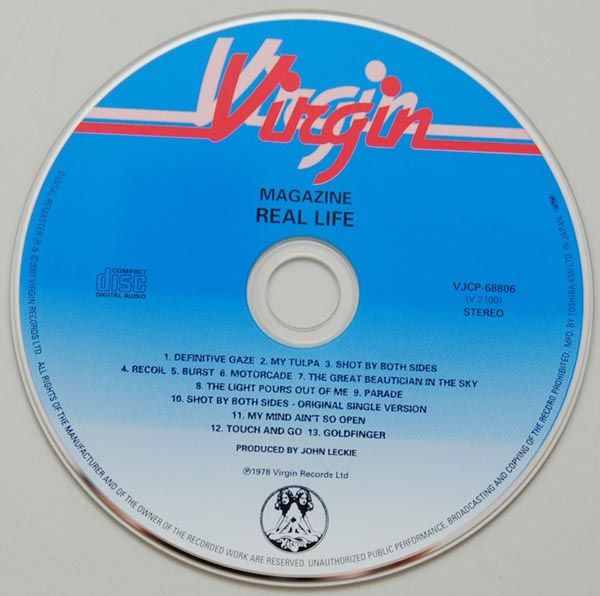 CD, Magazine - Real Life