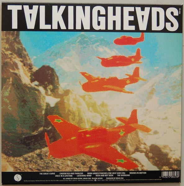 Back cover, Talking Heads - Remain In Light + 4