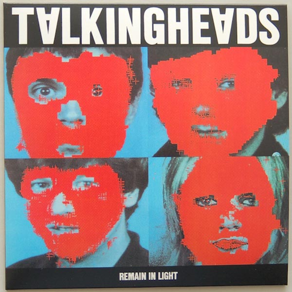 Front Cover, Talking Heads - Remain In Light + 4