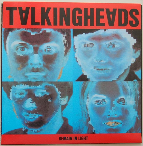 Inner sleeve side A, Talking Heads - Remain In Light + 4