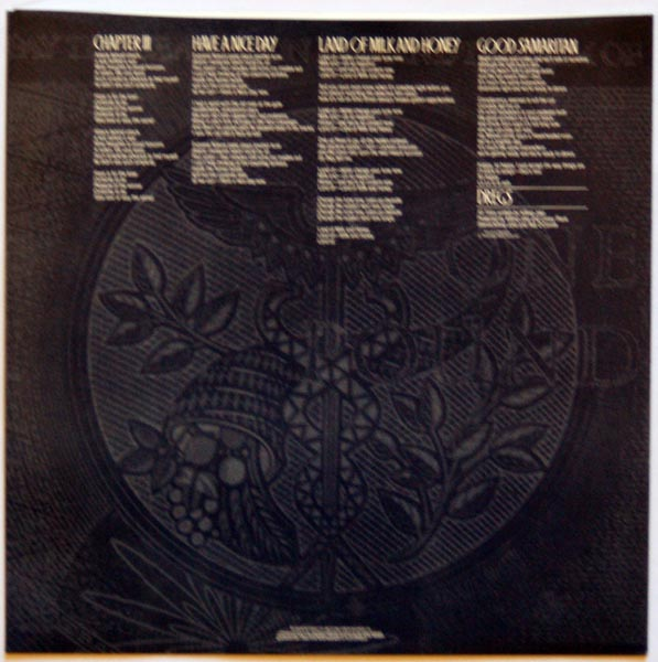 Inner sleeve B, Killing Joke - Revelations