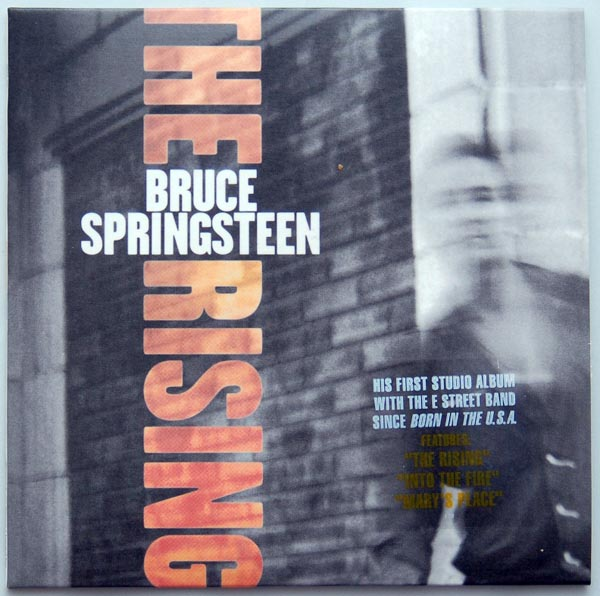 Front cover, Springsteen, Bruce - The Rising