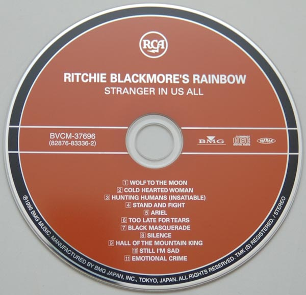 CD, Rainbow - Ritchie Blackmore's Rainbow - Stranger In Us All