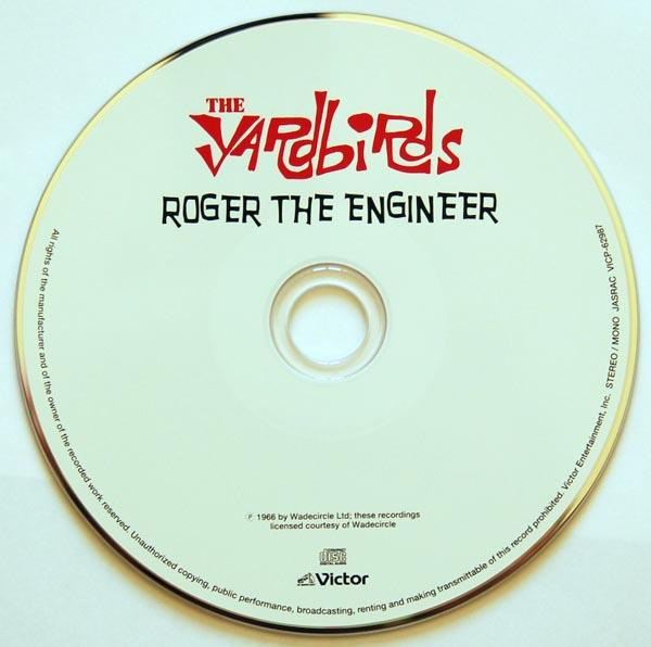 CD, Yardbirds (The) - Roger The Engineer + 2
