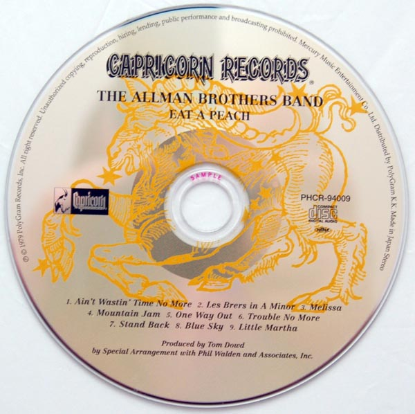 CD, Allman Brothers Band (The) - Enlightened Rogues