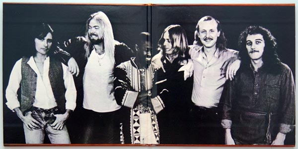 Gatefold open, Allman Brothers Band (The) - Enlightened Rogues