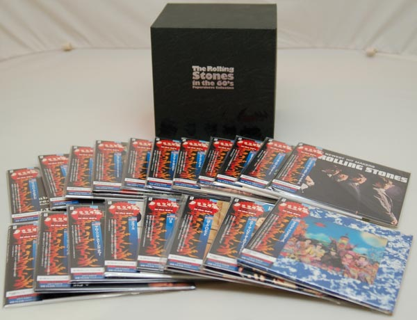 Box contents, Rolling Stones (The) -