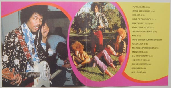 Insert back side, Hendrix, Jimi - Are You Experienced