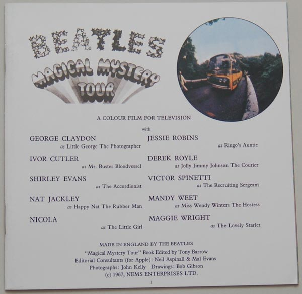 Booklet, Beatles (The) - Magical Mystery Tour
