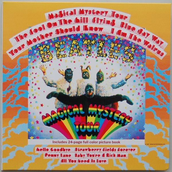 Front Cover, Beatles (The) - Magical Mystery Tour