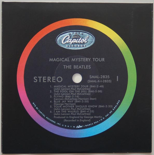 Inner sleeve side A, Beatles (The) - Magical Mystery Tour