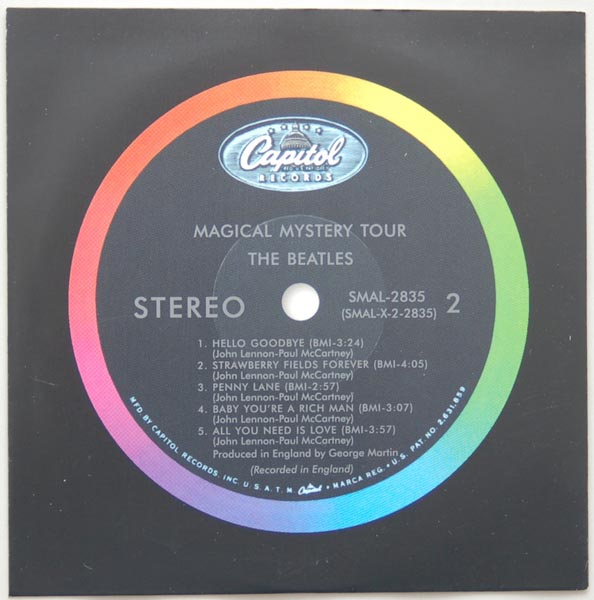 Inner sleeve side B, Beatles (The) - Magical Mystery Tour
