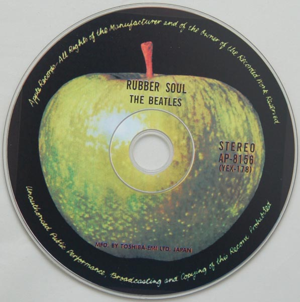 CD, Beatles (The) - Rubber Soul
