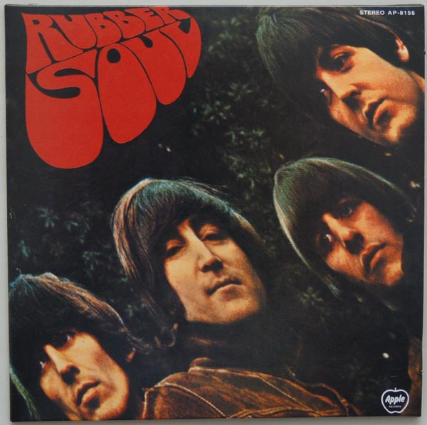 Front Cover, Beatles (The) - Rubber Soul