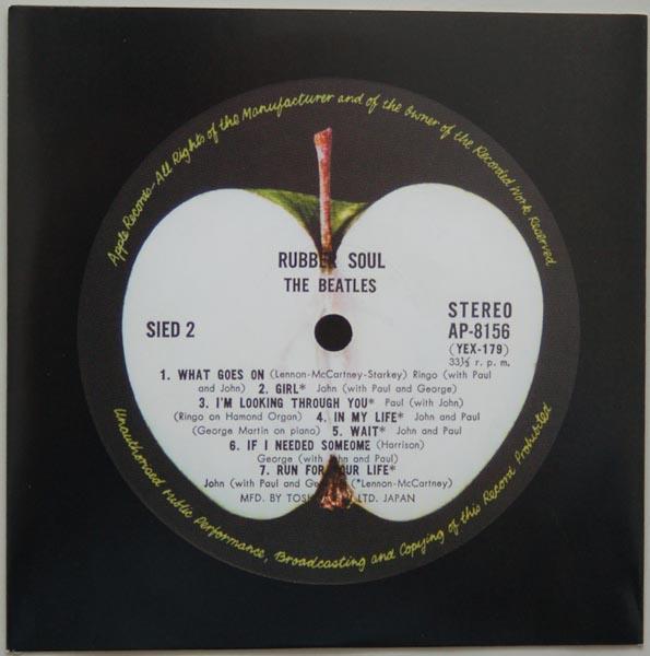 Inner sleeve side B, Beatles (The) - Rubber Soul