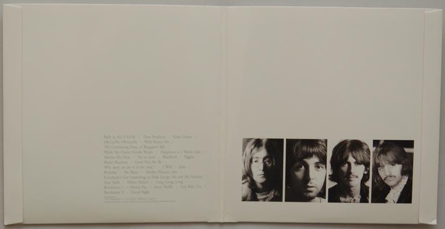 Gatefold open, Beatles (The) - The Beatles (aka The White Album)