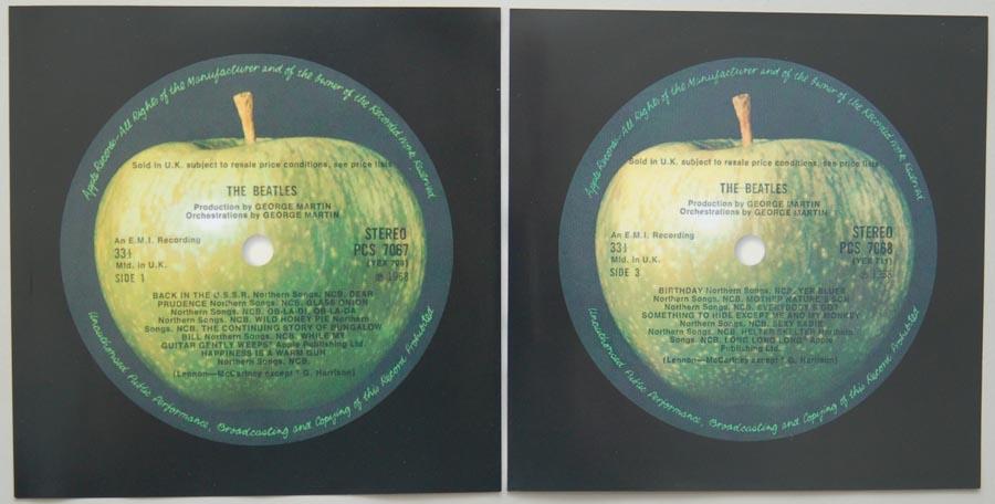 Inner sleeve side A, Beatles (The) - The Beatles (aka The White Album)