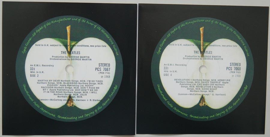 Inner sleeve side B, Beatles (The) - The Beatles (aka The White Album)