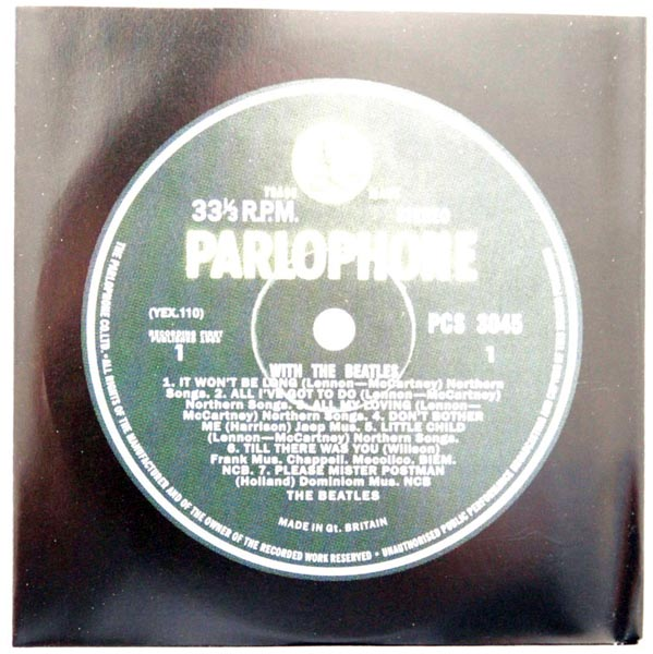 Inner sleeve side A, Beatles (The) - With The Beatles