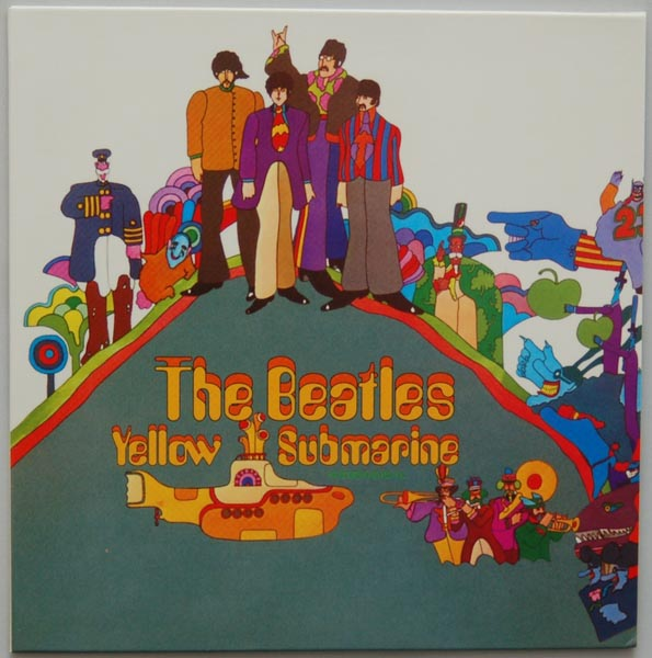 Front Cover, Beatles (The) - Yellow Submarine