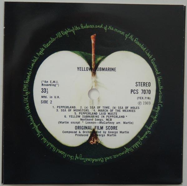 Inner sleeve side B, Beatles (The) - Yellow Submarine