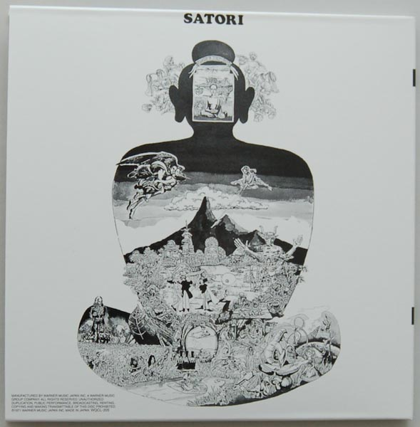 Back cover, Flower Travellin' Band - Satori